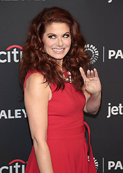 """Debra Messing at The 2018 PaleyFest Los Angeles - NBC's """"Will & Grace""""."""