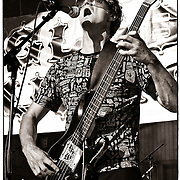 Guy Davis on bass for Kultur Shock live at Global Union in Milwaukee, WI. Photo © Jennifer Rondinelli Reilly. All rights reserved.