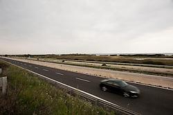 SS 379, aprile 2013.Strada Statale 379 Tratto tra Brindisi-Bari, altezza Torre Canne (Fasano)