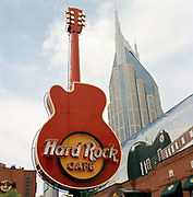 The Hard Rock Café, Nashville. Nashville  is the capital of Tennessee  and the self styled  home of country music. Today There is still some great music to be found but one has to navigate some typical US commercialism  in the search as  the town cashes in on its reputation.