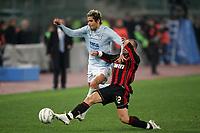 Fotball<br /> Italia Serie A<br /> Foto: Inside/Digitalsport<br /> NORWAY ONLY<br /> <br /> Valon Behrami (Lazio), Cristian Brocchi (Milan)<br /> <br /> 21 Jan 2006 (Match Day 20)<br /> Lazio v Milan (0-0)