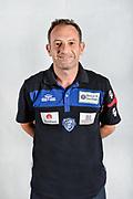 Ugo D'Alessandro, Fisioterapista<br /> Testine Busti Polo<br /> Banco di Sardegna Dinamo Sassari<br /> Olbia, 03/09/2017<br /> Foto L.Canu / Ciamillo-Castoria