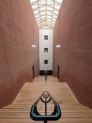 Interior of Bonnefanten Museum in Maastricht , Limburg , The Netherlands