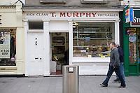 Murphy's butchers in DunLaoghaire in Dublin Ireland