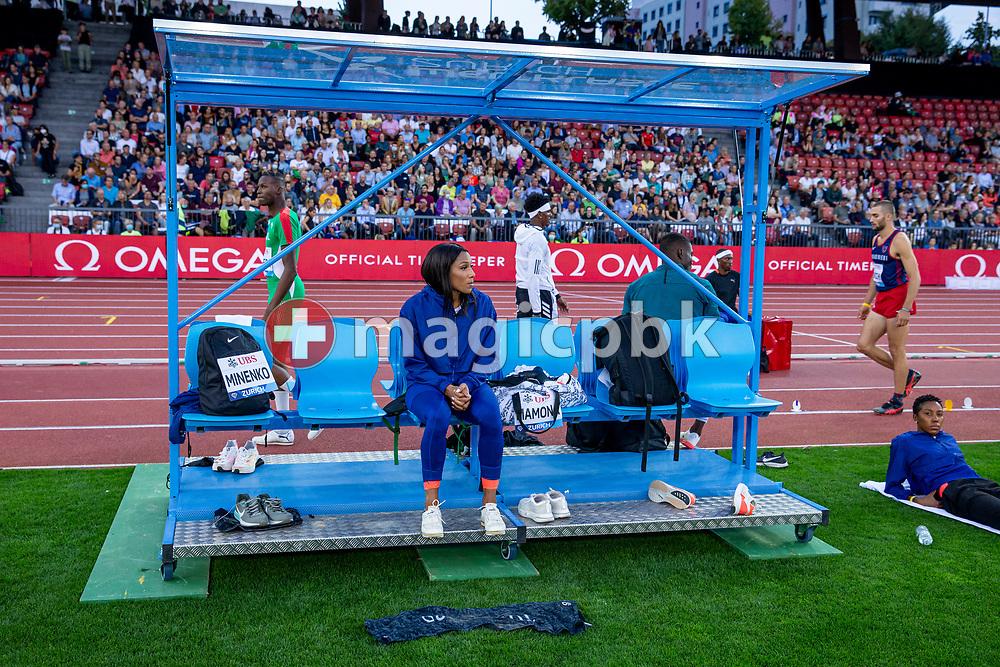 Impressions during the Iaaf Diamond League meeting (Weltklasse Zuerich) at the Letzigrund Stadium in Zurich, Switzerland, Thursday, Sept. 9, 2021. (Photo by Patrick B. Kraemer / MAGICPBK)