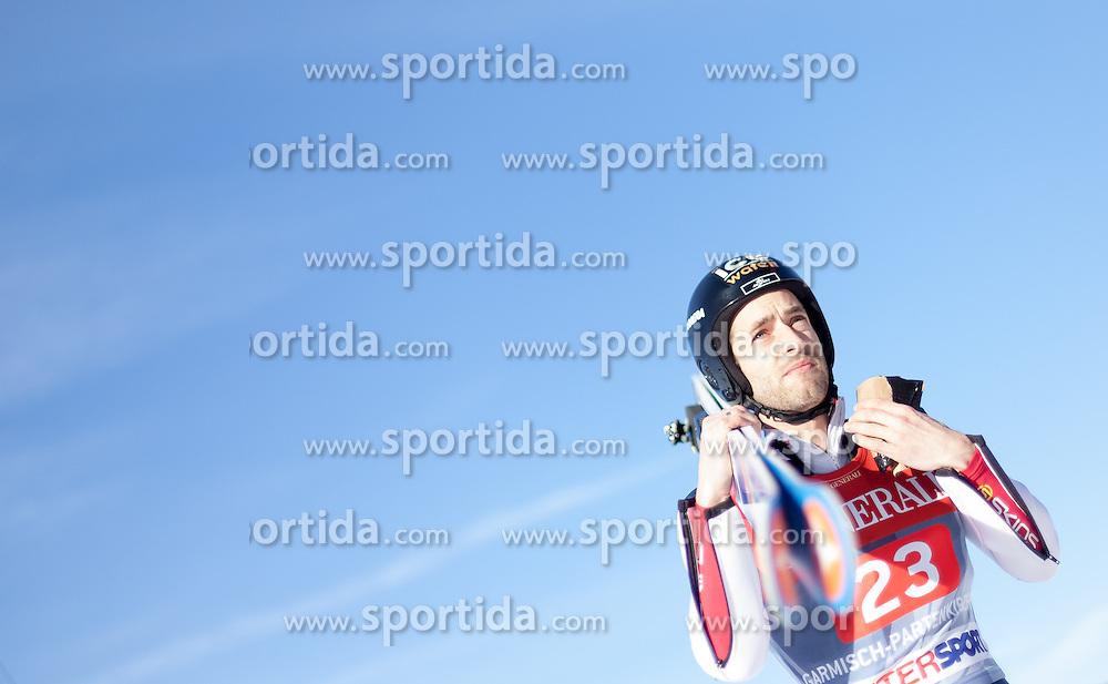 01.01.2014, Olympiaschanze, Garmisch Partenkirchen, GER, FIS Ski Sprung Weltcup, 62. Vierschanzentournee, Probesprung, im Bild Wolfgang Loitzl (AUT) // Wolfgang Loitzl (AUT) during Trial Jump of 62nd Four Hills Tournament of FIS Ski Jumping World Cup at the Olympiaschanze, Garmisch Partenkirchen, Germany on 2014/01/01. EXPA Pictures © 2014, PhotoCredit: EXPA/ JFK