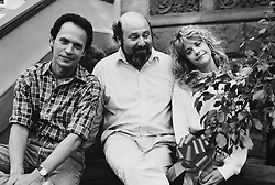RELEASE DATE: 21 July 1989. MOVIE TITLE: When Harry Met Sally STUDIO: Castle Rock Entertainment. PLOT: Harry and Sally have known each other for years, and are very good friends, but they fear sex would ruin the friendship. PICTURED: BILLY CRYSTAL as Harry Burns with Director ROB REINER and MEG RYAN as Sally Albright. (Credit Image: © Castle Rock Entertainment/Entertainment Pictures/ZUMAPRESS.com)
