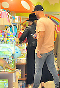 MADRID, SPAIN, 2016, MAY 24 <br /> <br /> Adele, who has traveled to Spain with his son Angelo James Konecki three years of age, took it had a few hours off and decided to approach a toy city to satisfy the whim of his only son. This is how the singer, accompanied by two bodyguards and a driver, arrived by car Imaginarium, the world's leading company in the sector zaragozana educational toys. There, the small Angelo enjoyed a great time showing her famous mom's toys called their attention. Throughout the time he spent in Adele, dressed in black completemente with a wide-brimmed hat with which to cover his face, turned his back to the cameras.<br /> ©Exclusivepix Media