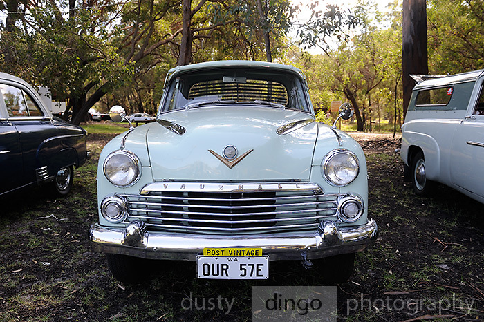 1957 Vauxhall Velox E. <br /> 2011 Classic Car Show, Whiteman Park, Perth, Western Australia. March 20, 2011