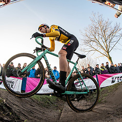 2019-12-27 Cycling: dvv verzekeringen trofee: Loenhout: Wout van Aert impressing with a fith place