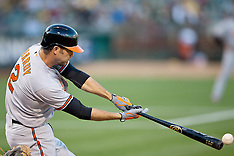 20150803 - Baltimore Orioles at Oakland Athletics