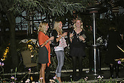 Holly Johnstone, Nathalie Burgun and Willow Corbett-Winder, Stelle d'Italia. Celebration of Italian design, fashion and style hosted by Luca del Bono. The Roof Gardens. Kensington High St. London. 22 September 2006. ONE TIME USE ONLY - DO NOT ARCHIVE  © Copyright Photograph by Dafydd Jones 66 Stockwell Park Rd. London SW9 0DA Tel 020 7733 0108 www.dafjones.com