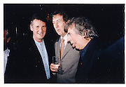 Micheal Palin, Eric Idle, Terry Jones, 'Something Like Fire' edited by Lin Cook book party, Tramp, Jermyn St. London 14 Oct96© Copyright Photograph by Dafydd Jones 66 Stockwell Park Rd. London SW9 0DA Tel 020 7733 0108 www.dafjones.com
