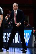 Coach Ettore Messina of Olimpia Milano <br /> A X Armani Exchange Olimpia Milano - Happy Casa Brindisi<br /> Basket Serie A LBA 2020/2021<br /> Milano 13 December 2020<br /> Foto Mattia Ozbot / Ciamillo-Castoria