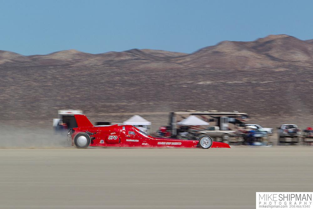 Bud Free, 570, eng G, body BGL, driver Bud Free, turn out, record 199.302 mph
