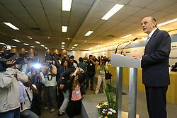 O governador de SP, Jose Serra durante abertura oficial da HOSPITALAR 2007-14ª Feira Internacional de Produtos, Equipamentos, Serviços e Tecnologia para Hospitais, Laboratórios, Clínicas e Consultórios, que acontece de 12 a 15 de junho de 2007, no Expo Center Norte, em São Paulo. FOTO: Jefferson Bernardes/Preview.com