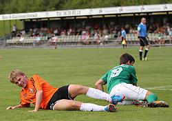 Anders Holst (FC Helsingør) under kampen i 2. Division Øst mellem Boldklubben Avarta og FC Helsingør den 19. august 2012 i Espelunden. (Foto: Claus Birch).