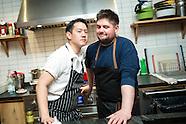 Chefs Jeremiah Stone and Fabian von Hauske