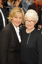 28 April 2006 - Hollywood, California - Ellen DeGeneres and mother Betty DeGeneres. 33rd Annual Daytime Emmy Awards held at the Kodak Theater.<br /> Photo Credit: Giulio Marcocchi/Sipa Press<br /> (') Copyright 2006 by Giulio Marcocchi./daytime.055/Color Space  SRGB/0604290702