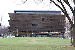 THEMENBILD - Das National Museum of African American History and Culture soll im Herbst 2016 eroeffnet werden. Reisebericht, aufgenommen am 12. Jannuar 2016 in Washington D.C. // The National Museum of African American History and Culture is scheduled to open in fall 2016. Travelogue, Recorded January 12, 2016 in Washington DC. EXPA Pictures © 2016, PhotoCredit: EXPA/ Eibner-Pressefoto/ Hundt<br /> <br /> *****ATTENTION - OUT of GER*****