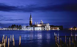 THEMENBILD - San Giorgio Maggiore, aufgenommen am 05. Oktober 2019 in Venedig, Italien // San Giorgio Maggiore in Venice, Italy on 2019/10/05. EXPA Pictures © 2019, PhotoCredit: EXPA/ JFK