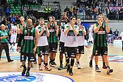 DESCRIZIONE : Final Eight Coppa Italia 2015 Desio Quarti di Finale Olimpia EA7 Emporio Armani Milano - Sidigas Scandone Avellino<br /> GIOCATORE : Team Sidigas Scandone Avellino<br /> CATEGORIA : Ritratto Delusione<br /> SQUADRA : Sidigas Scandone Avellino<br /> EVENTO : Final Eight Coppa Italia 2015 Desio<br /> GARA : Olimpia EA7 Emporio Armani Milano - Sidigas Scandone Avellino<br /> DATA : 20/02/2015<br /> SPORT : Pallacanestro <br /> AUTORE : Agenzia Ciamillo-Castoria/L.Canu