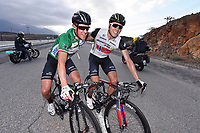 Arrival, PAUWELS Serge (BEL) Green Points Jersey, BOASSON HAGEN Edvald (NOR) Dimension Data, winner, during the 7th Tour of Oman 2016, Stage 2, Omantel Head Office - Quriyat 250m (162Km), on February 17, 2016 - Photo Tim de Waele / DPPI