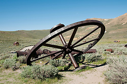 Gold Mining Ghost Town, Bodie, Eastern Sierra, California, USA.  Photo copyright Lee Foster.  Photo # california121072