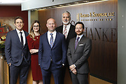 SHOT 1/8/19 12:19:39 PM - Bachus & Schanker LLC lawyers James Olsen, Maaren Johnson, J. Kyle Bachus, Darin Schanker and Andrew Quisenberry in their downtown Denver, Co. offices. The law firm specializes in car accidents, personal injury cases, consumer rights, class action suits and much more. (Photo by Marc Piscotty / © 2018)