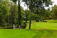 21-09-2015: Golf Resort Karlovy Vary in Karlovy Vary (Karlsbad), Tsjechië.<br /> Foto: Mooie parkbaan