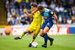Tom Nichols of Bristol Rovers takes on Adam El-Abd of Wycombe Wanderers - Mandatory by-line: Robbie Stephenson/JMP - 18/08/2018 - FOOTBALL - Adam's Park - High Wycombe, England - Wycombe Wanderers v Bristol Rovers - Sky Bet League One