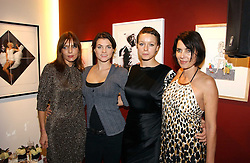Left to rght, JEMIMA FRENCH, HOLLY DAVIDSON, SAMANTHA MORTON and SADIE FROST at Forever Marilyn an exhibition of a art associated with Marilyn Monroe in aid of Save The Children held at Scream, Bruton Street, London on 23rd October 2006.<br /><br />NON EXCLUSIVE - WORLD RIGHTS