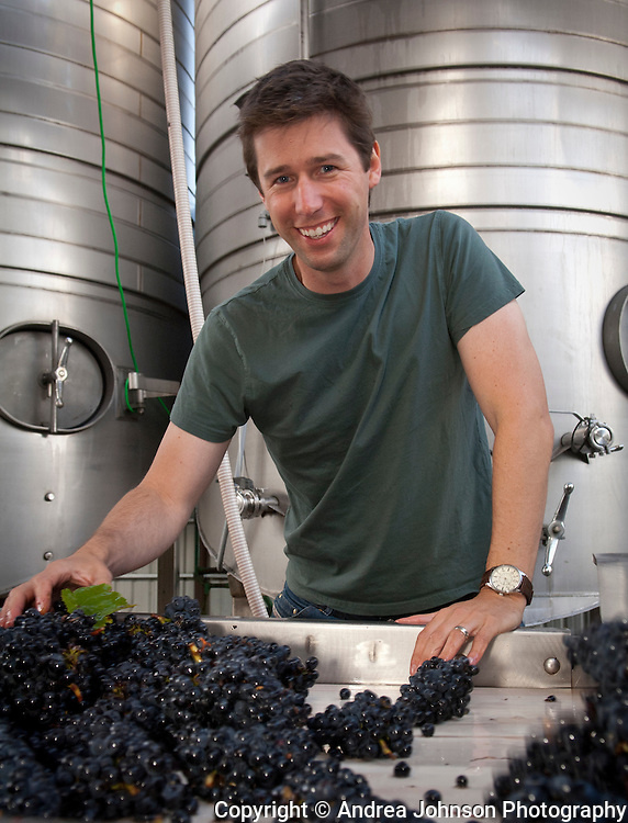 Anthony Van Nice, Four Graces winery, Willamette Valley, Oregon