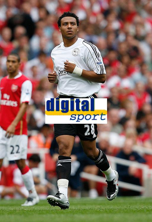 Photo: Steve Bond.<br />Arsenal v Derby County. The FA Barclays Premiership. 22/09/2007. Sub Giles Barnes