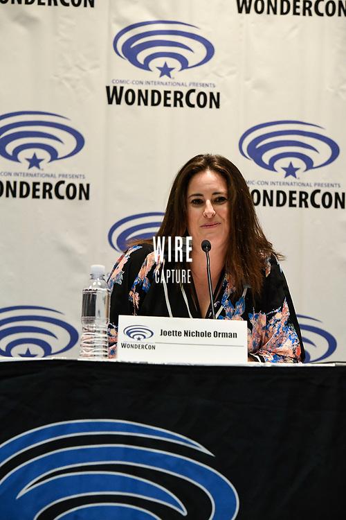 Joette Nichole Orman at Wondercon in Anaheim Ca. March 31, 2019