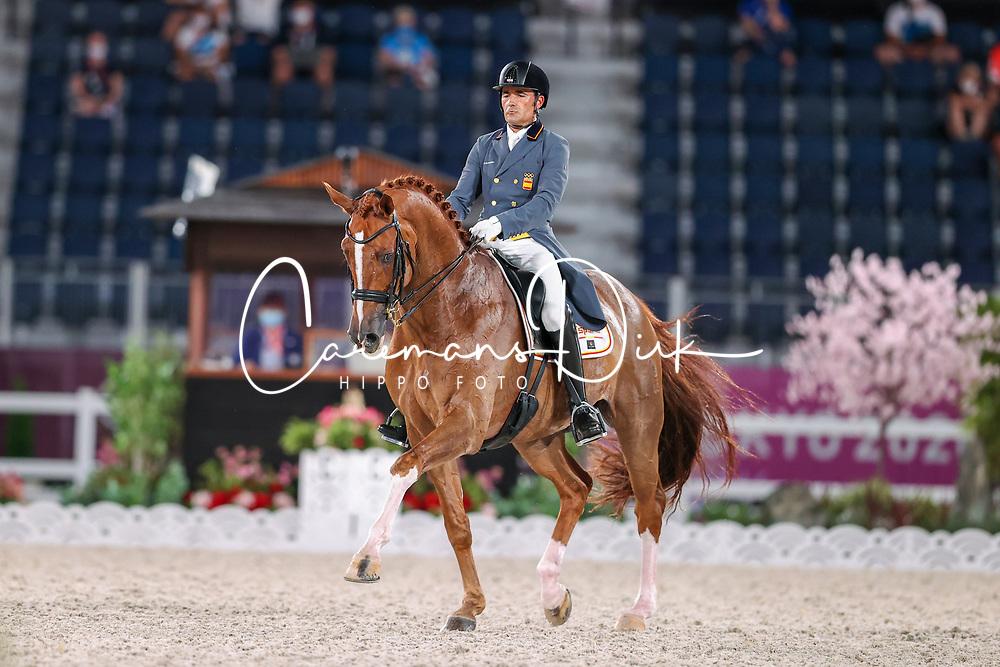 Garcia Mena Jose Antonio, ESP, Sorento 15, 124<br /> Olympic Games Tokyo 2021<br /> © Hippo Foto - Dirk Caremans<br /> 24/07/2021