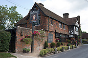 King Henry VIII pub in Hever, England, United Kingdom. Traditional and historic English pub which has been on this site since 1597.
