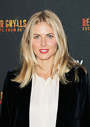 © Licensed to London News Pictures. 25/09/2013, UK. Donna Air. Bear Grylls: Escape From Hell - launch party, Battersea Power Station, London UK, September 25. Photo credit : Richard Goldschmidt/Piqtured/LNP