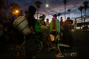 The Central American migrants prepare to leave Mexicali, Mexico right before their departure to Tijuana, Mexico on November 20th, 2018 at the park near Boulevard Adolfo López Mateos.