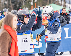 25.01.2020, Streif, Kitzbühel, AUT, FIS Weltcup Ski Alpin, im Rahmen der KitzCharityTrophy 2020 am Samstag, 25. Jänner 2020, auf der Streif in Kitzbühel. // f.l. Tommy Hilfiger and PJ Reynold during the KitzCharityTrophy 2020 at the Streif in Kitzbühel, Austria on 2020/01/25, im Bild v.l. Tommy Hilfiger, PJ Reynold // f.l. Tommy Hilfiger and PJ Reynold during the KitzCharityTrophy 2020 at the Streif in Kitzbühel, Austria on 2020/01/25. EXPA Pictures © 2020, PhotoCredit: EXPA/ Stefan Adelsberger