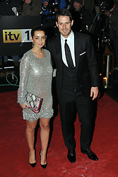 Louise Redknapp and Jamie Redknapp arrive for the Sun Military awards at the Imperial War Museum, London, Monday December 19, 2011. Photo By Andrew Parsons/ i-Images