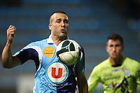 FOOTBALL - FRENCH CHAMPIONSHIP 2011/2012 - LE HAVRE AC v FC TOURS  - 9/09/2011 - PHOTO ERIC BRETAGNON / DPPI - YOHANN RIVIERE  (HAC)