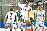 Fotball 5. juni 2005 MOSS - SOGNDAL moss - Håvard Flo (midten)<br /> Foto Kurt Pedersen