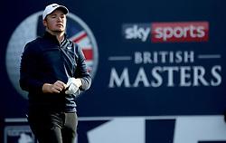 Sam Horsfield during day two of the British Masters at Walton Heath Golf Club, Surrey.