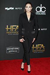 The 21st Annual Hollywood Film Awards at The Beverly Hilton Hotel in Beverly Hills, California on 11/5/17. 05 Nov 2017 Pictured: Elizabeth Olsen. Photo credit: River / MEGA TheMegaAgency.com +1 888 505 6342