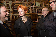 JAKE MILLER; MEGAN PIPER; DUNCAN MACASKILL, Tate Britain Commission 2014: Phyllida Barlow, Tate Britain. Millbank. London. 31 March 2014.