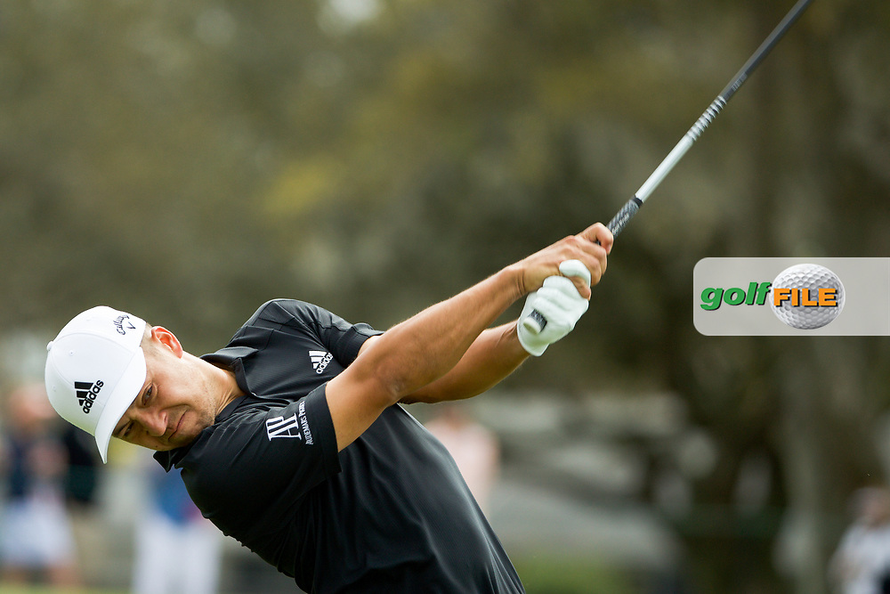 Xander Schauffele (USA) during the final round of the Arnold Palmer Invitational presented by Mastercard, Bay Hill, Orlando, Florida, USA. 08/03/2020.<br /> Picture: Golffile | Scott Halleran<br /> <br /> <br /> All photo usage must carry mandatory copyright credit (© Golffile | Scott Halleran)