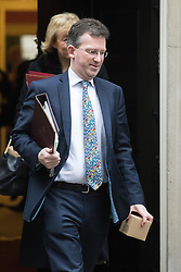Downing Street, London, December 13th 2016. Attorney General Jeremy Wright leaves the weekly meeting of the cabinet at Downing Street, London.