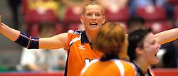 17-06-2000 JAP: OKT Volleybal 2000, Tokyo<br /> Nederland - Italie 2-3 / Erna Brinkman, Riette Fledderus