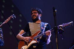 August 26, 2017 - Show da banda 5 a Seco no Cine Joia, em São Paulo. (Credit Image: © Simone Bispo/Fotoarena via ZUMA Press)